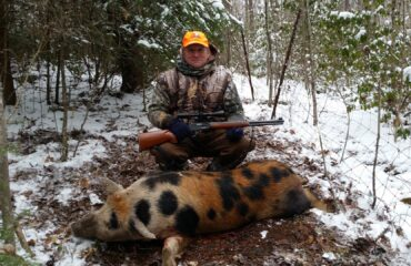 Russian boar hunting in Tennessee